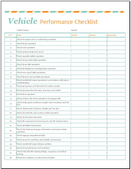 Vehicle Service Record Template for MS Excel Word  Excel Templates - vehicle service record template