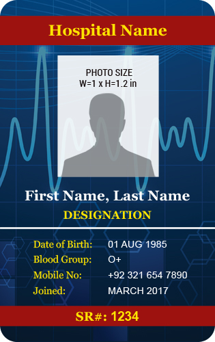 MS Word Photo ID Badge Templates for all Professionals Word - sample id cards