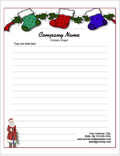 Event Letterhead Templates for MS Word Word  Excel Templates