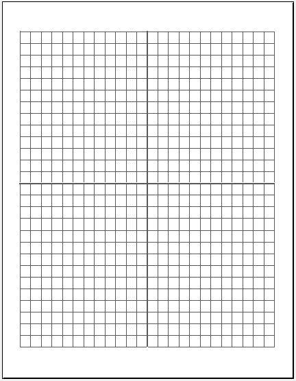 large sheets graph paper