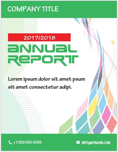 20 Report Cover Page Templates for MS Word Word  Excel Templates