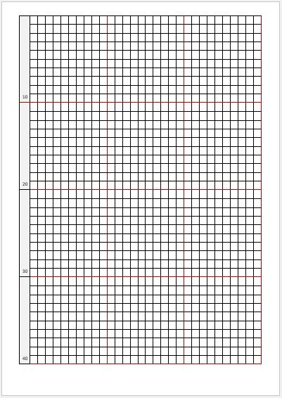 Graph Paper Templates for MS Word \ Excel Word \ Excel Templates - isometric graph paper