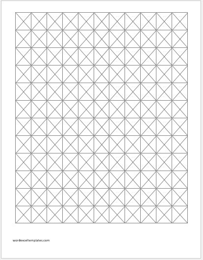 Triangular Graph Paper TriangularGraphPrintableTriangularGraphPaper