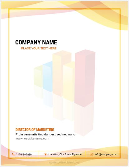 11 Best Business Letterhead Templates for MS Word Word  Excel
