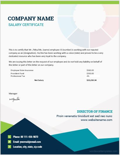 certificate templates in word
