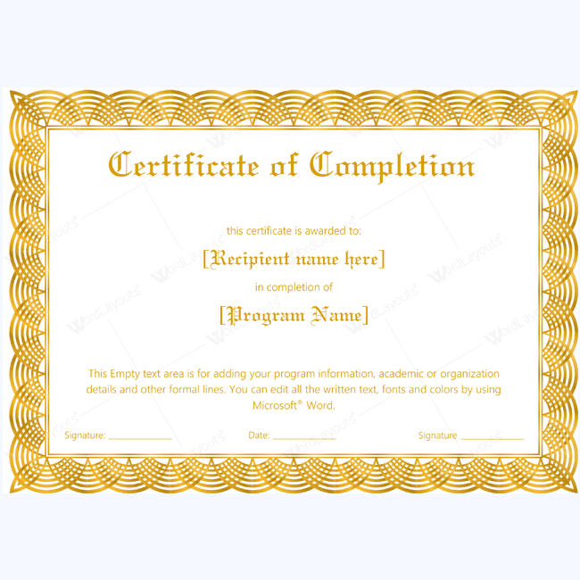 Certificate Template Free Pdf – Baby Dedication Certificates Templates