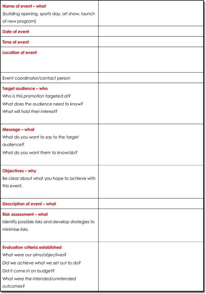 Event Itinerary Templates, Planners  Schedule Templates - sample itinerary templates