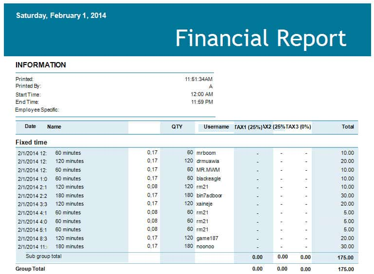 Finance Report Template  NodeCvresumePaasproviderCom