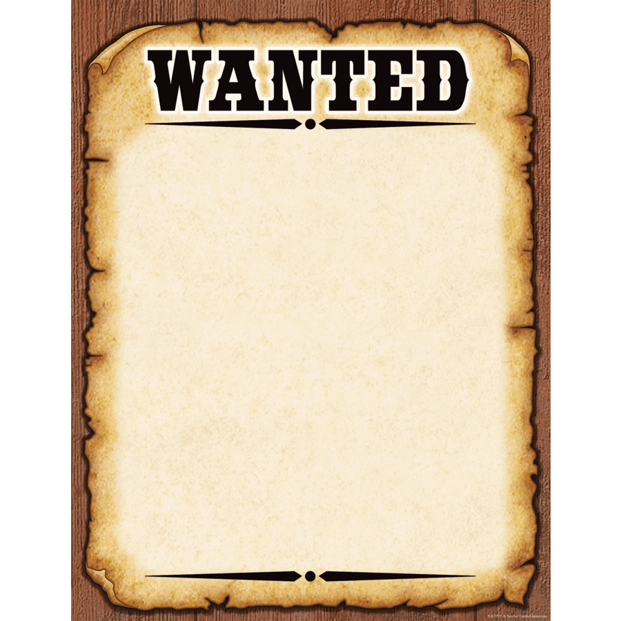 Ms Word Wanted Poster Template – Printable Wanted Posters