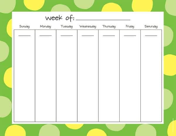 excel employee schedule