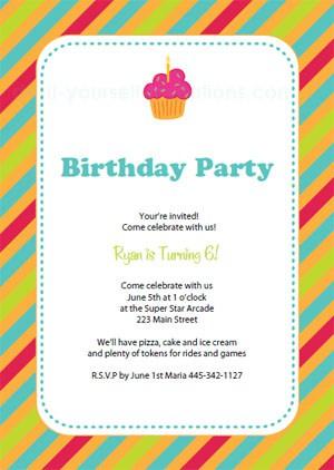 9 Birthday Invitation Templates - Excel PDF Formats - format for birthday invitation