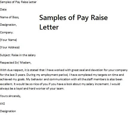 8 Salary Increase Templates - Excel PDF Formats - how to write salary increment letter