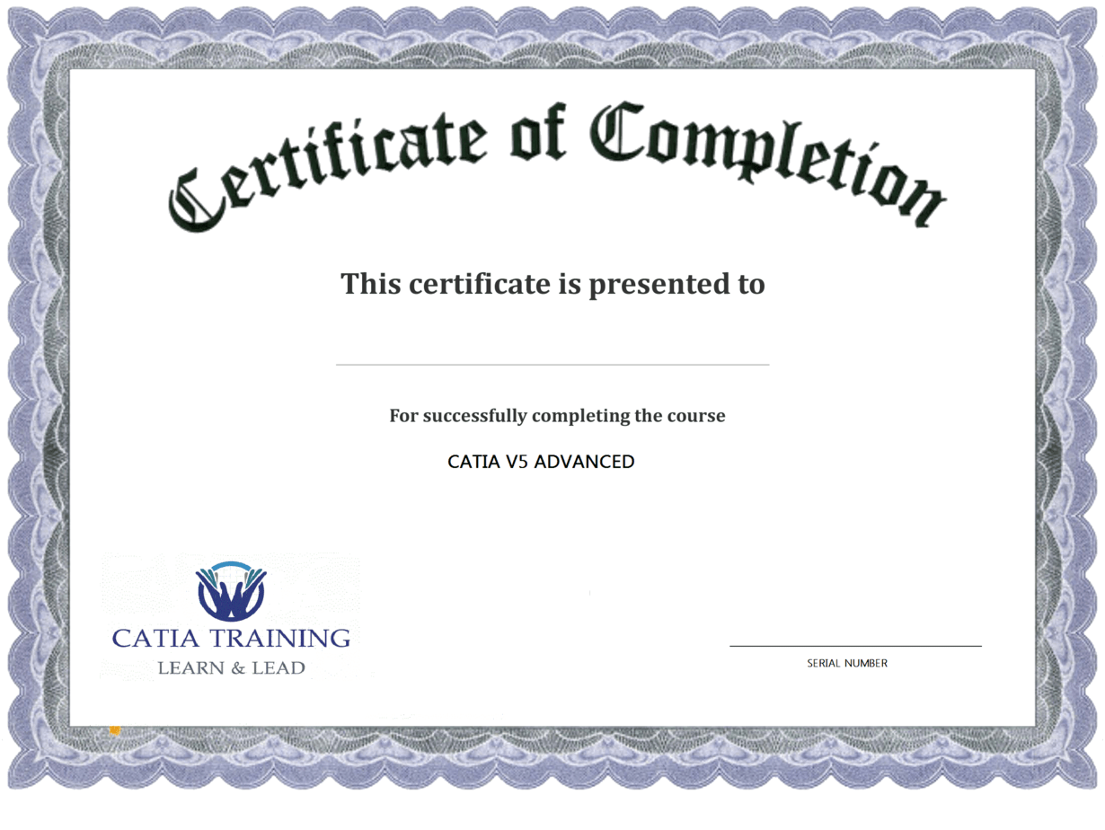 templates for certificates of completion