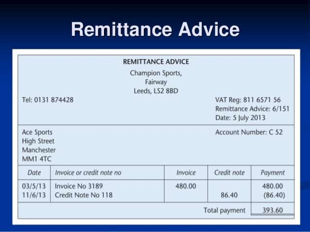 Doc920707 Remittance Advice Template Free Doc475676 Payment – Remittance Advice Template