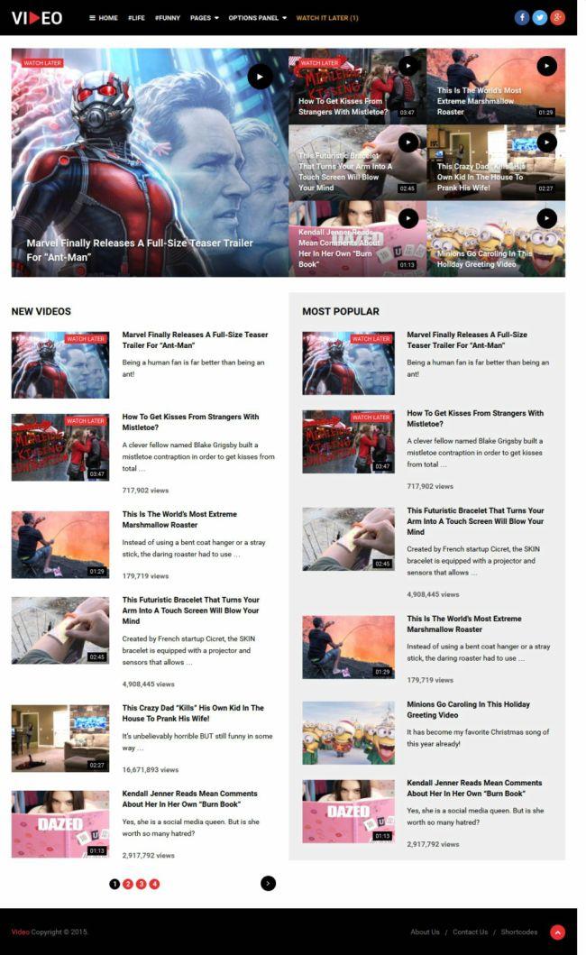MyThemeShop Video Theme Review READ B4 BUY