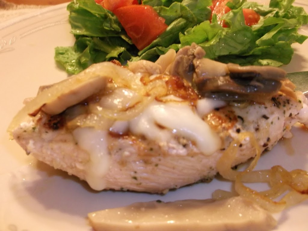Smothered Chicken Breast - Words of Deliciousness