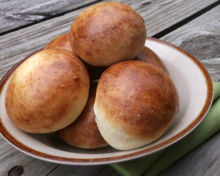 Buttermilk Hamburger Buns