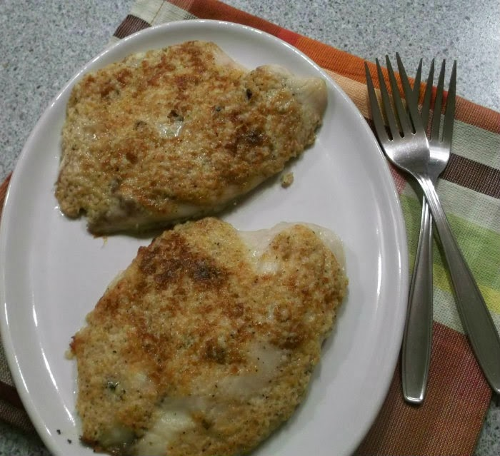 Broiled Tilapia Parmesan - Words of Deliciousness