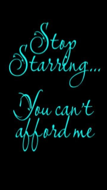 Awesome Quotes Wallpapers Free Download You Cant Afford Me Attitude Quote Collection Of
