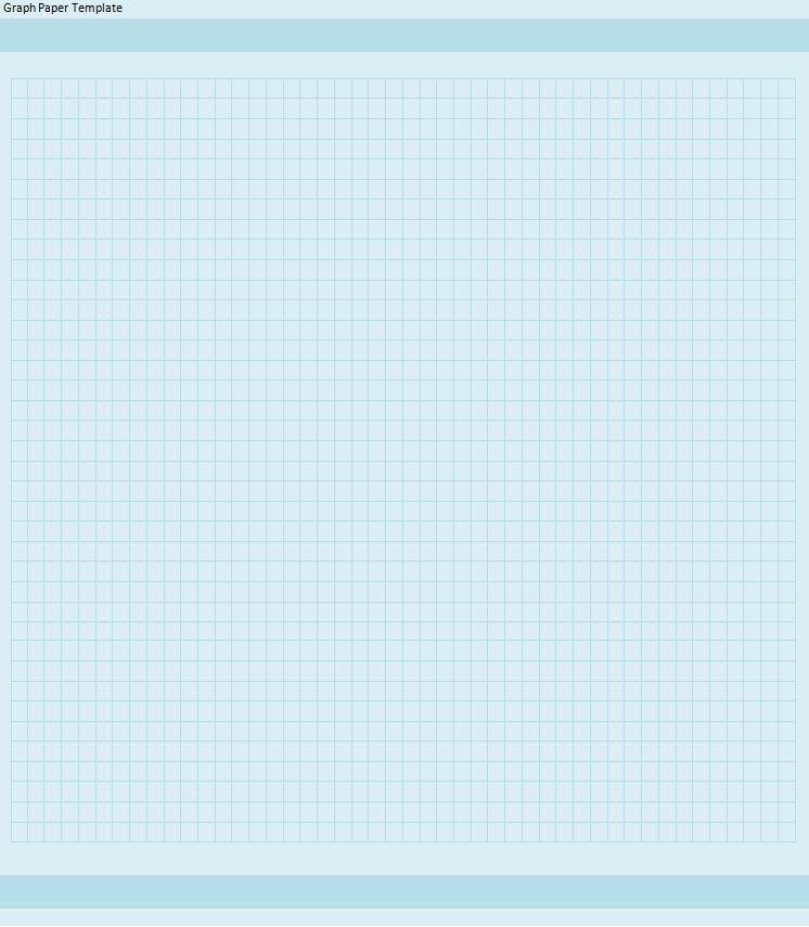 Graph Paper Template Free Printable MS Word Format