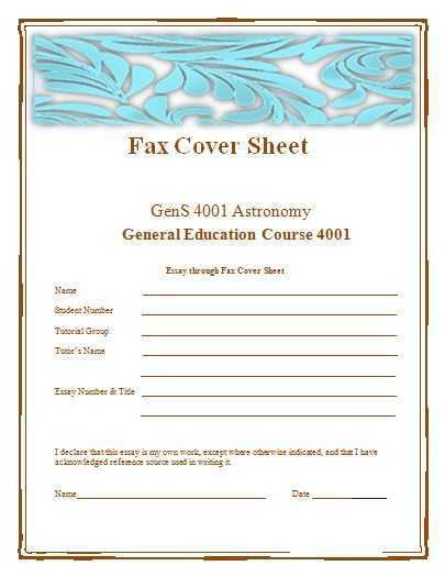Fax Cover Sheet Templates Free Word Templates