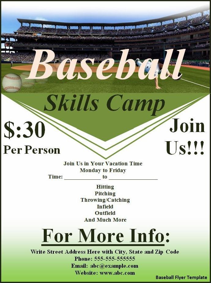 sports flyer template - Teacheng