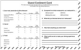customer card template