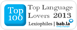 Top 100 Language Lovers 2013