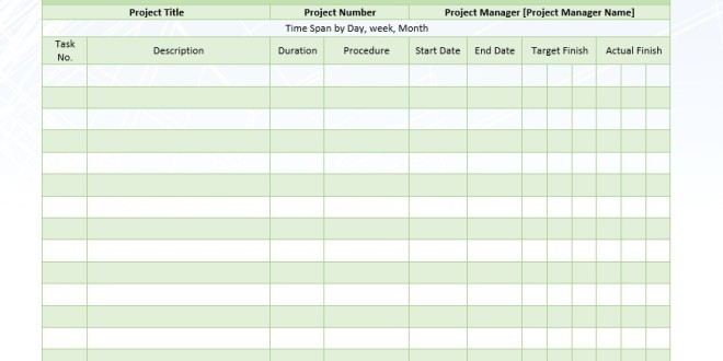 Project Timetable | colbro.co