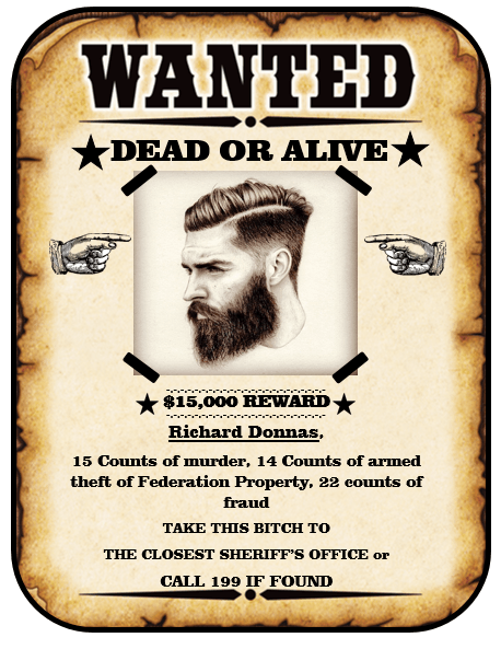 Wanted Poster Template Police | Resume Template Example