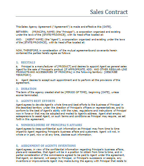 Scotiabank Small Business Plan Writer Tool Sales Contract – New Blog