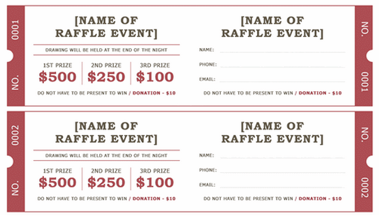 Doc640429 Free Event Ticket Template Microsoft Word Event
