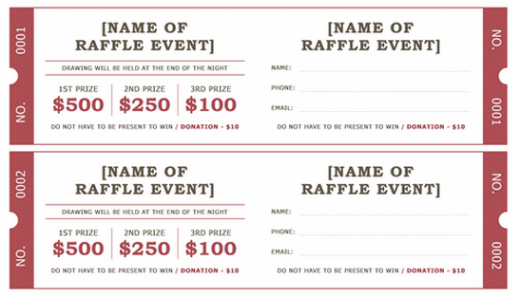 Doc640429 Word Event Ticket Template Event Ticket Template – Free Event Ticket Templates for Word