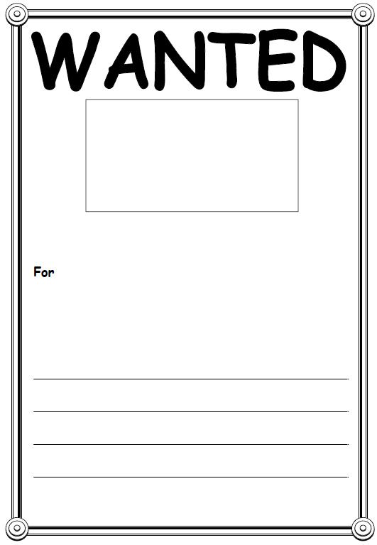 Wanted Poster Templates - Word Templates Docs - most wanted posters templates