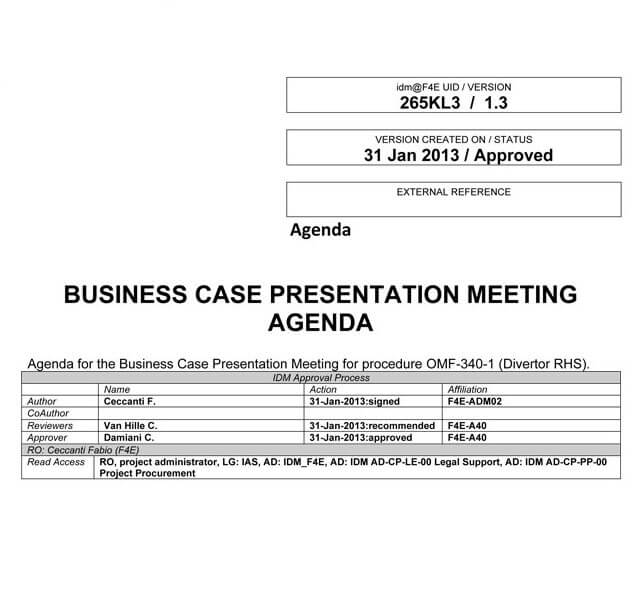 Creating a Presentation Agenda (Free Templates, Examples)