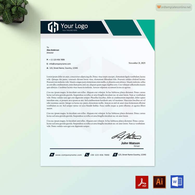 what is business letterhead - Nisatasj-plus