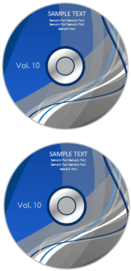 avery dvd label template
