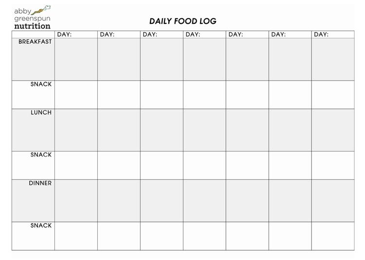 fitness log pdf