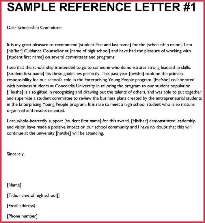 Formal Reference Letter - 8+ Samples, Formats Download in PDF  Word