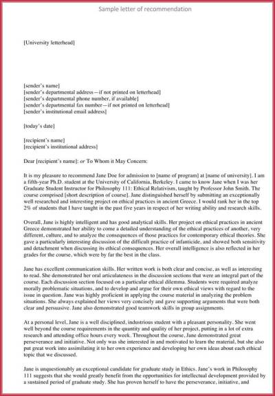 Formal Reference Letter - 8+ Samples, Formats Download in PDF & Word