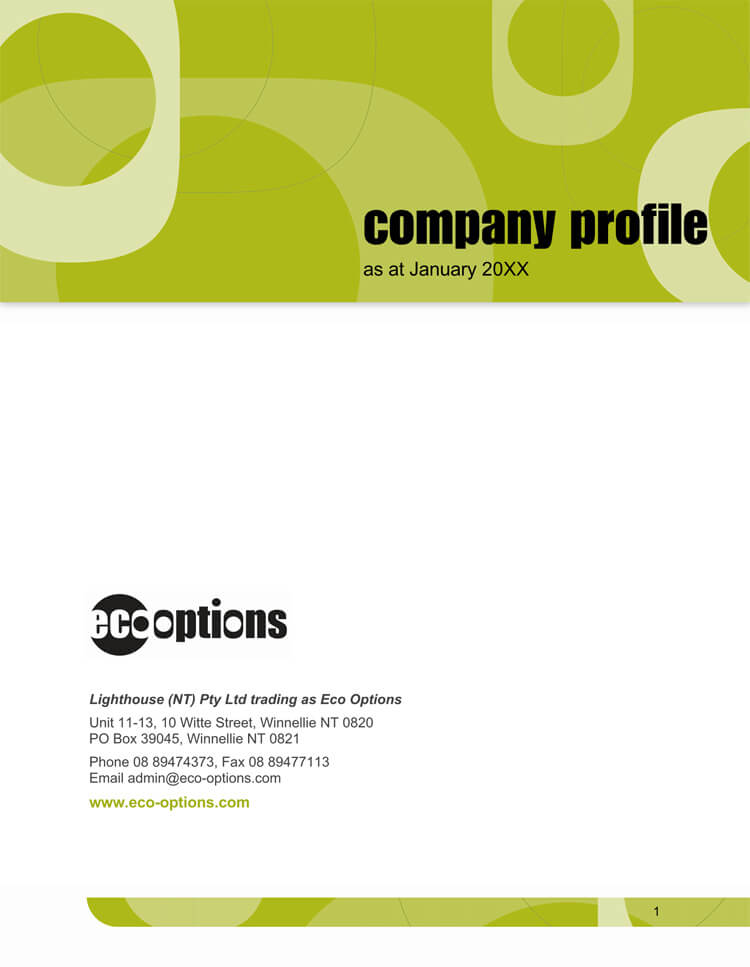 20+ Company/Business Profile Templates (for Word  Illustrator)