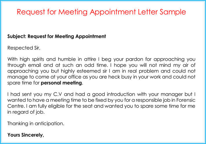 Company Appointment Letters - 20+ Samples, Examples  Formats - Appointment Letters