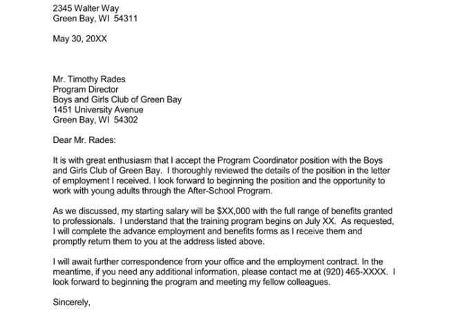 job offer negotiation sample letter