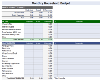 Budget Analysis Template - 10+ Worksheets for Word, Excel ...