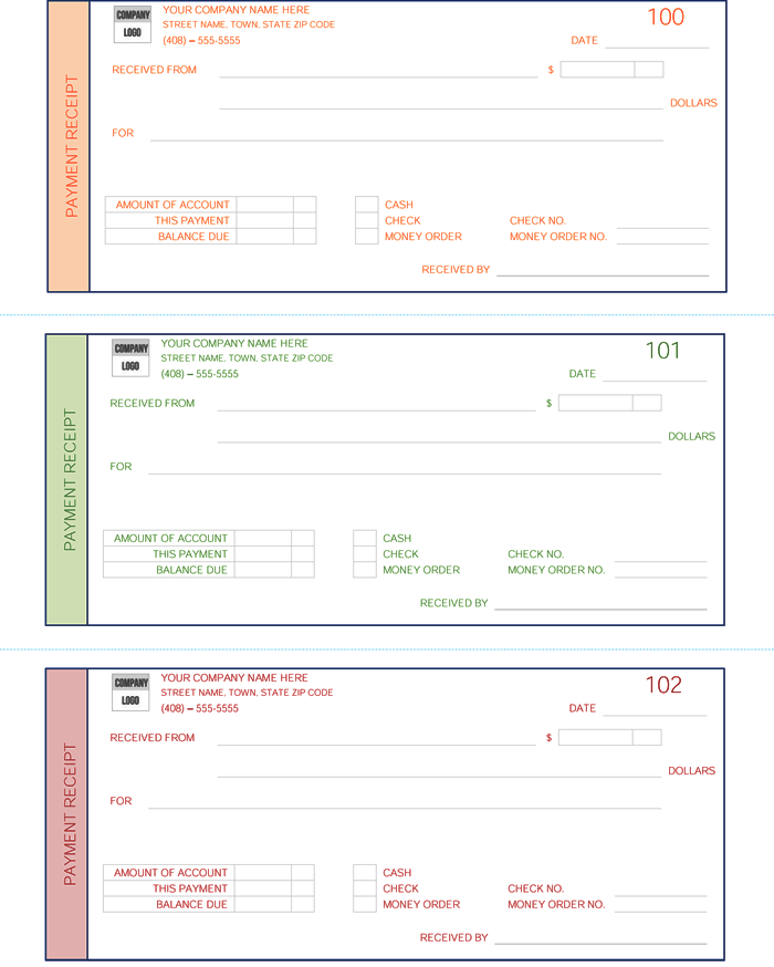Doc25503300 Printable Receipts for Payment Doc25503300 – Printable Receipts