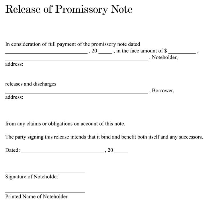 Writing a Promissory Note (38+ Templates  Formats)