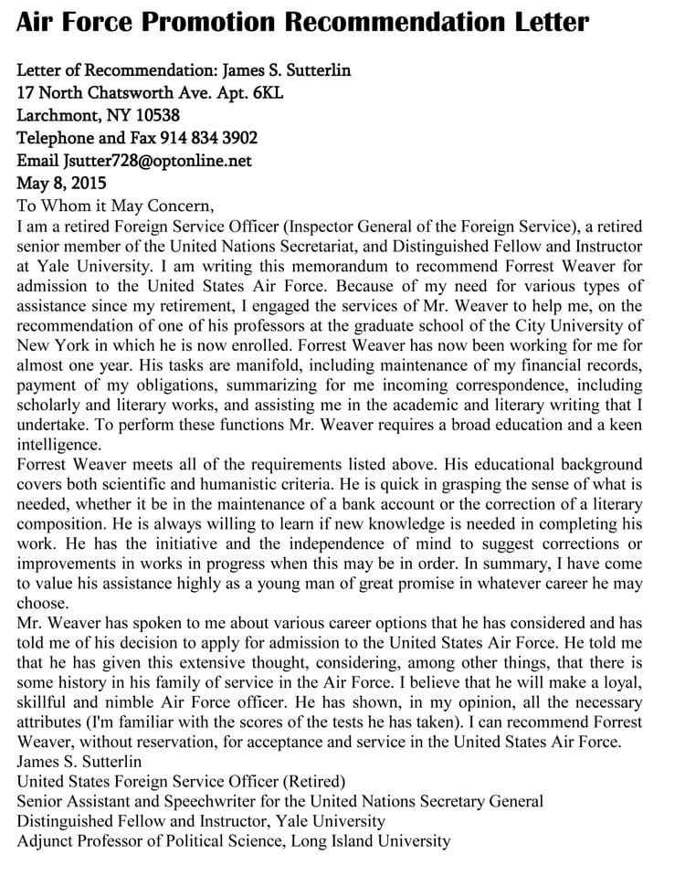 Promotion Recommendation Letter (20+ Sample Letters and Templates)