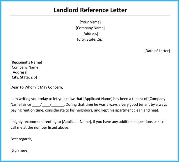 rent recommendation letter - Onwebioinnovate