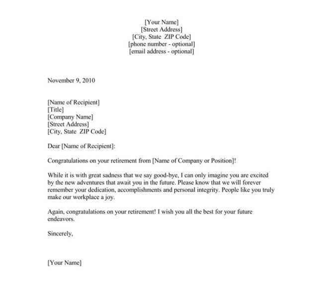 Sample Farewell Letter - 9+ Docs for Word and PDF - goodbye note