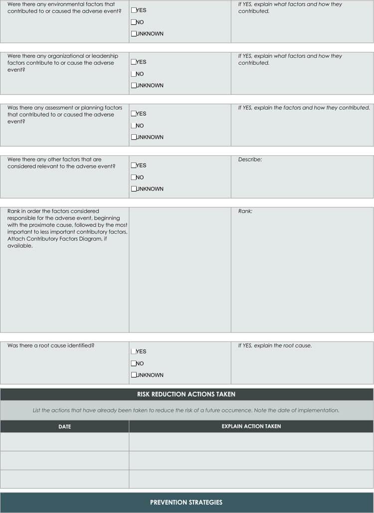5 whys root cause analysis template free root cause analysis